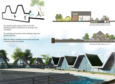 3RD PRIZE WINNER stonebarnmeditationcamp architecture competition winners