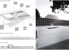 Honorable mention - kipislandauditorium architecture competition winners