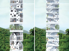 2ND PRIZE WINNER hongkongpixelhomes architecture competition winners